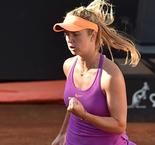 Svitolina takes Rome title as Halep falls apart amid injury concern