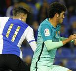 Barcelona frustrated by Herculean effort