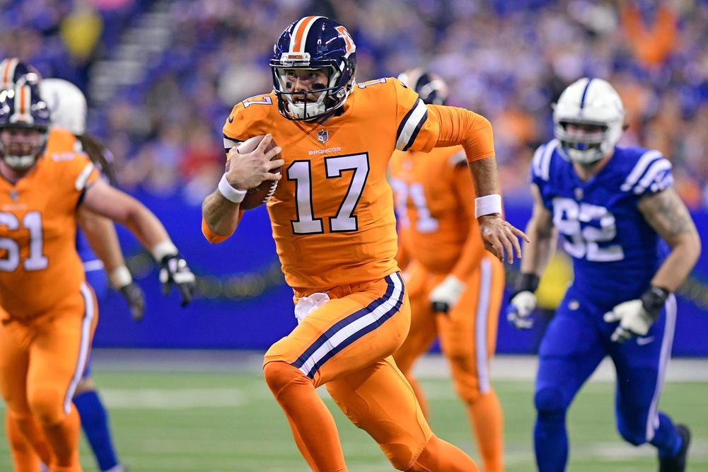 Broncos QB Trevor Siemian out for season with shoulder injury
