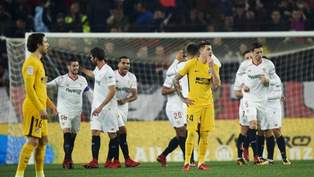 Atletico Madrid crash out of Copa del Rey in quarterfinals to Sevilla