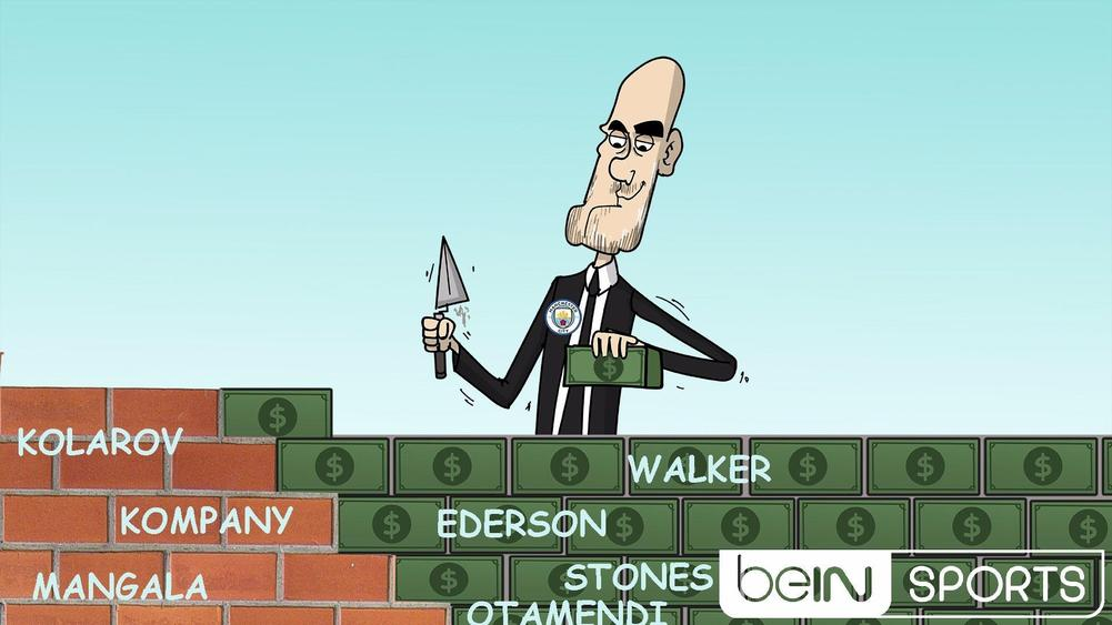 Guardiola splashes out on Man City defensive wall!