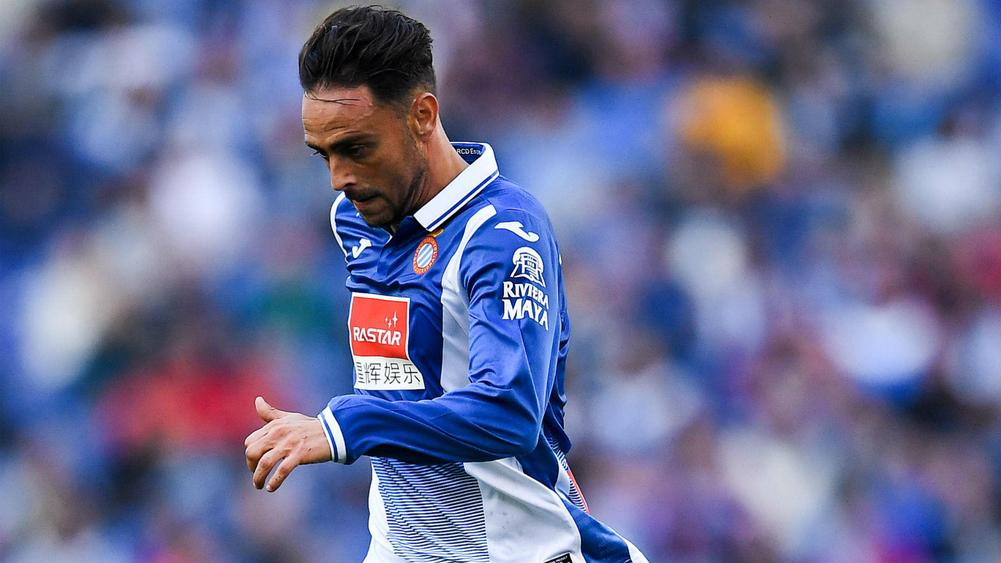 Espanyol striker Sergio Garcia denies allegations of racially abusing Barcelona's Samuel Umtiti