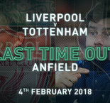 Liverpool v Tottenham - last time out