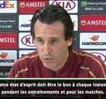 "Emery : ""Je suis optimiste"""