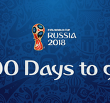 100 DAYS TO GO - FIFA WORLD CUP RUSSIA 2018