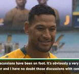 Folau still wants apology from Rugby Australia