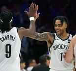 Nets surprise 76ers, Golden State dominant