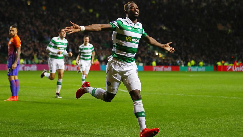 Dembele at double as Celtic check Man City charge