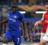 Kante: Chelsea not favourites for Europa League