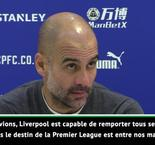 "Guardiola : ""Le destin de la Premier League est entre nos mains"""