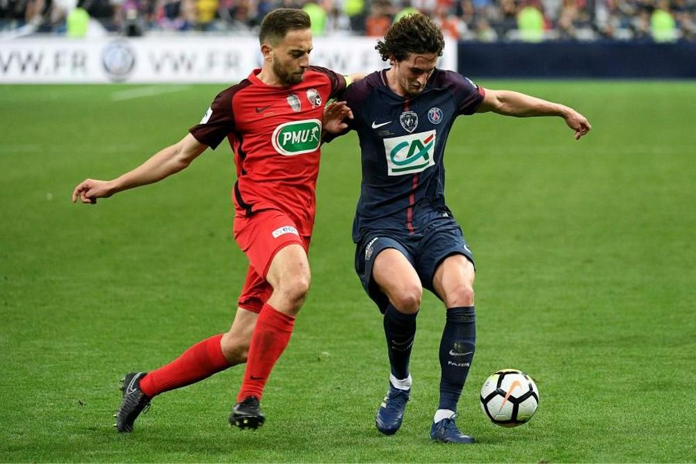 Coupe de france sans trembler paris reprend une coupe - Coupe de france en direct france 2 ...