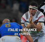 VI Nations - Italie vs. France en chiffres