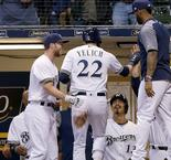 Brewers top Dodgers to snap seven-game losing streak