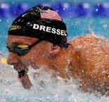 Seven up! Dressel matches Phelps' record world championship medal haul