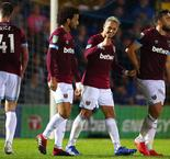 West Ham survives Wimbledon scare to advance in Carabao Cup