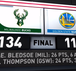 GAME RECAP: Bucks 134, Warriors 111