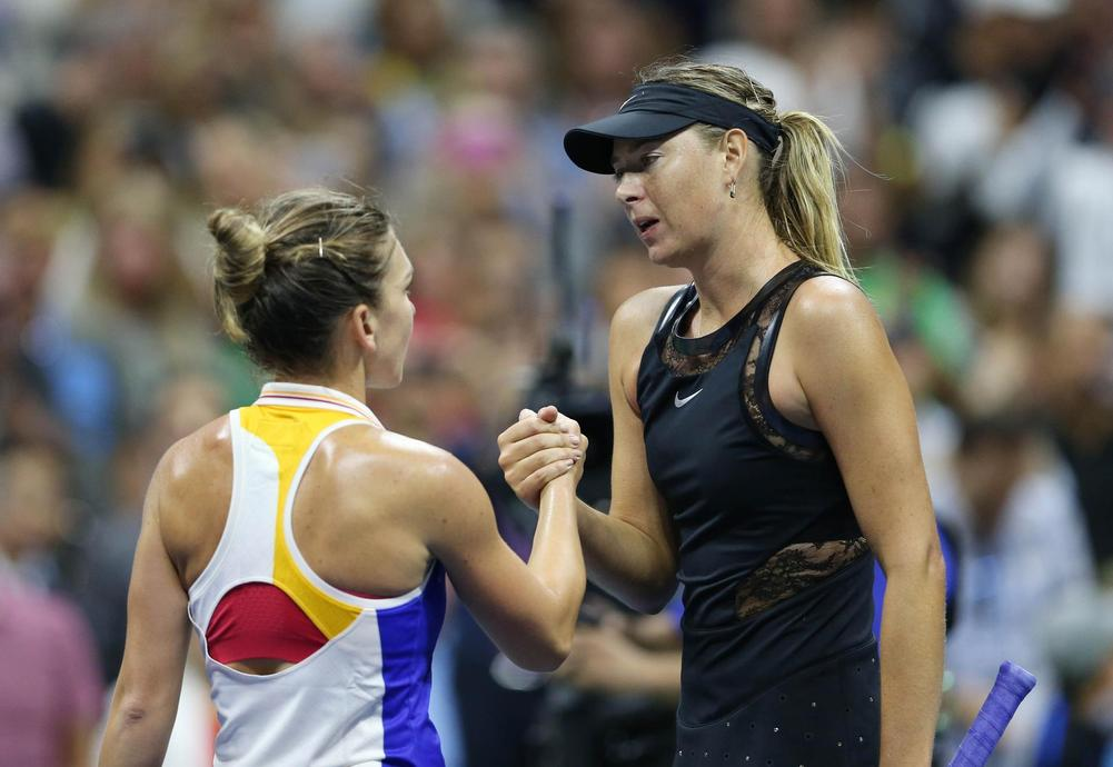 Sharapova outlasts Makarova in Beijing second round