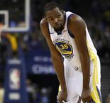 Kerr says Durant 'just doesn't feel like talking right now' amid Knicks links