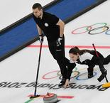 Curling Mixed Doubles: Olympic Athlete from Russia 8 Norway 4