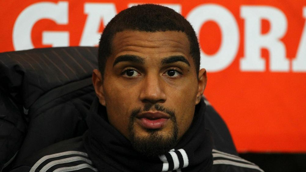 Kevin-Prince Boateng signs on at Eintracht Frankfurt
