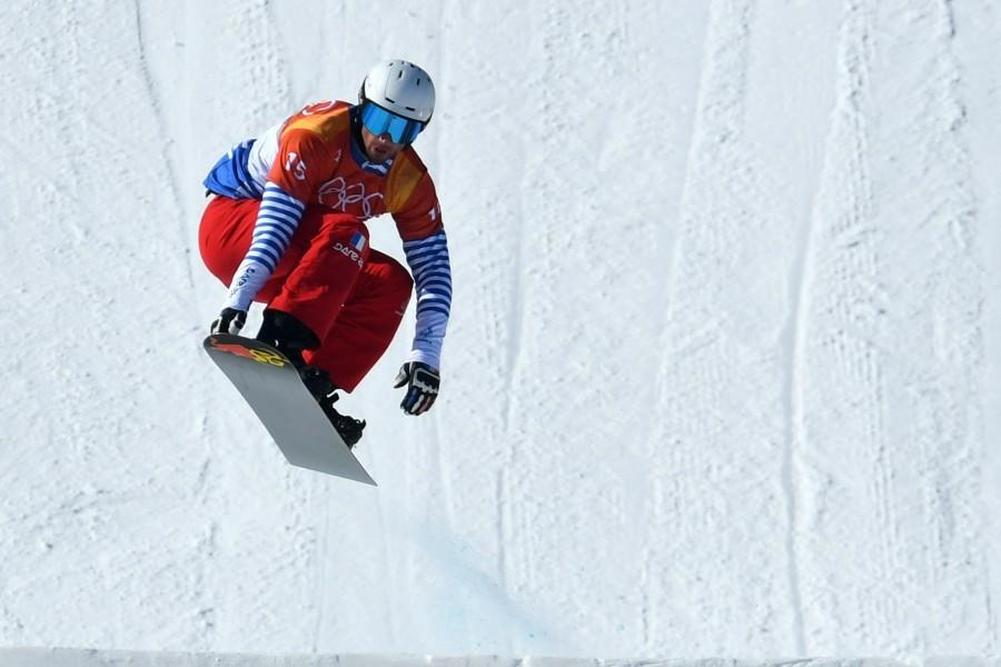 Snowboard Cross: Vaultier en or !