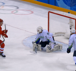 Ice Hockey - MEN'S PRELIMINARY ROUND - GROUP B: OAR 8 Slovenia 2
