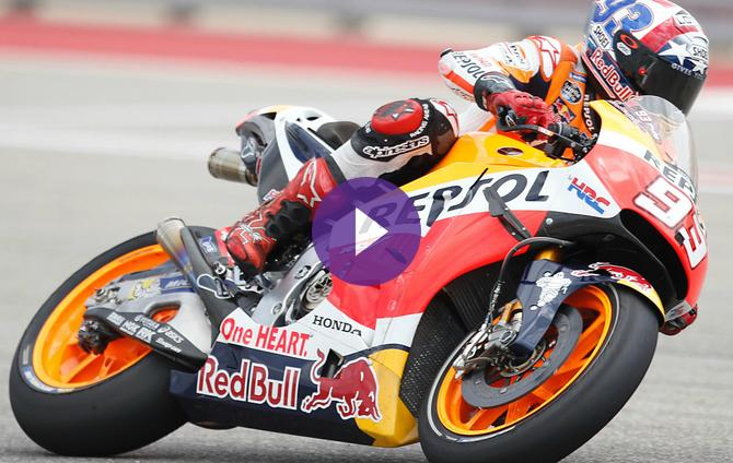Marc Marquez: For My Riding Style Le Mans is Good