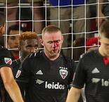 'Pain Rooney' breaks nose after debut DC United goal
