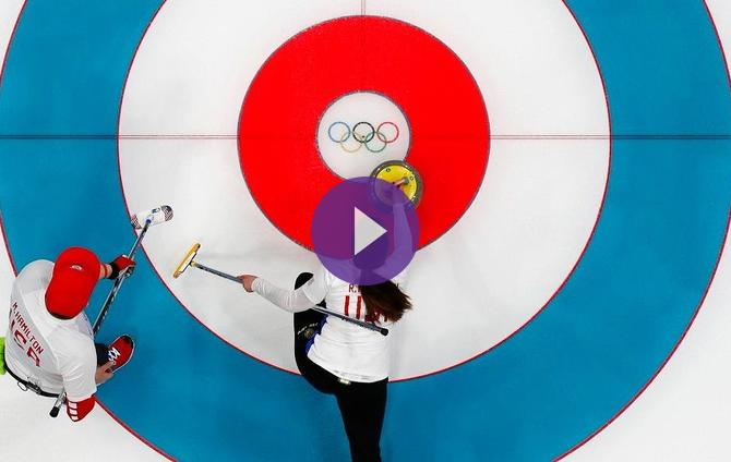 Curling Mixed Doubles: Finland 7 USA 5