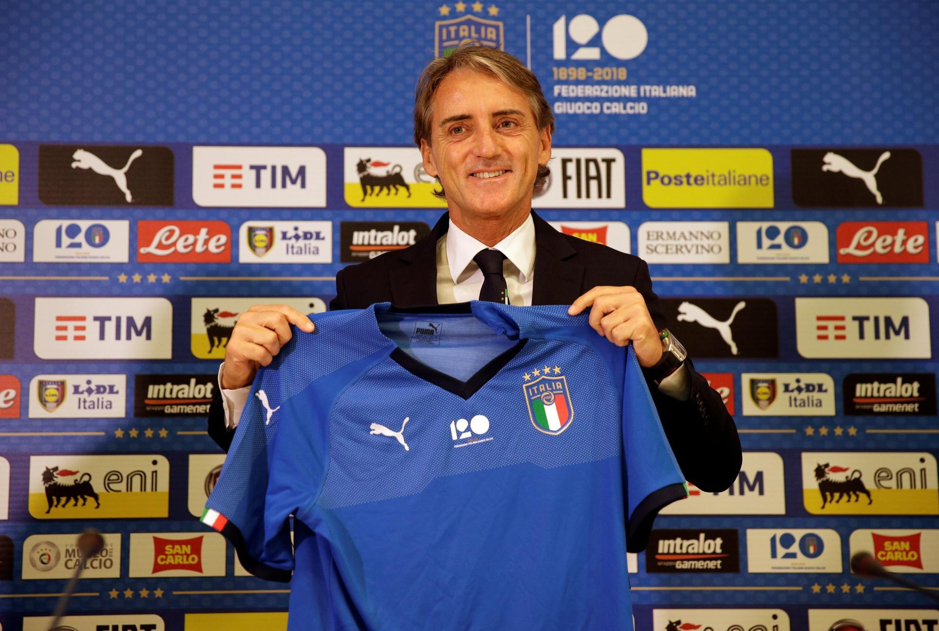 Mancini appointed Italy head coach