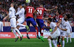 La Liga: Atletico Madrid 1 - 1 Real Madrid