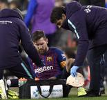 Messi To Be Assessed By Barcelona Medical Staff After Knock