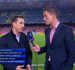 UEFA Champions League - Gary Neville Reaction