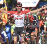 Belgium's Wallays wins Vuelta 18th stage, Yates retains lead