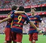 La Liga: Athletic Bilbao 0 - 1 Barcelona