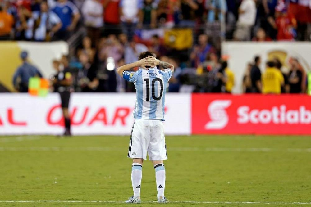 Messi toujours maudit