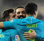 MSN propels Barcelona home after Busquets blow