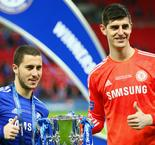 Hazard, Courtois futures 'private' for Chelsea and Conte