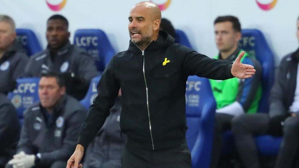 Pep to ring changes in bid to rest slick City stars