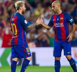 Mascherano ruled out of Barca's league opener