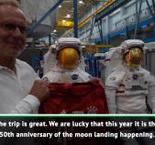 Bayern 'takes off' to space station NASA