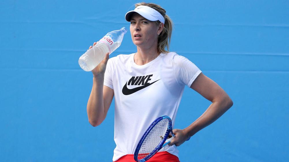 Banned Sharapova's wildcard is slammed by tennis greats
