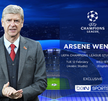 beIN SPORTS marks the return of the Champions League with Arsene Wenger as a special guest