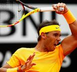 Nadal fights back to down Fognini and remain on Djokovic collision course