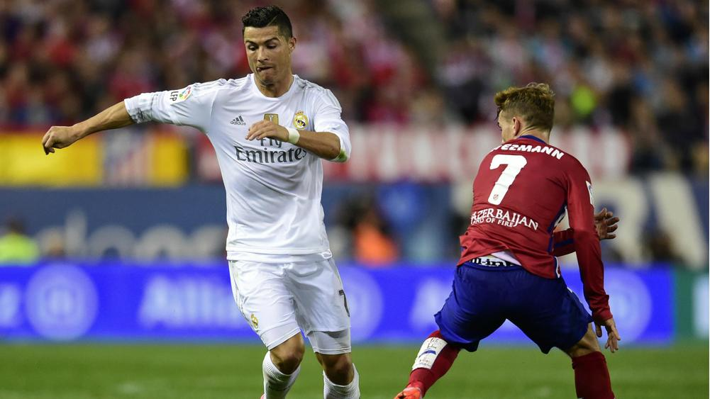 Ronaldo scores three as Real beat Atletico