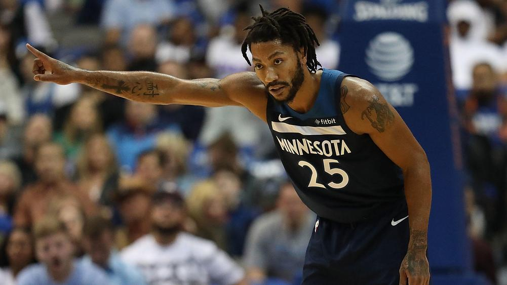 778c4dcab8a2 Rose scores 50 points in Timberwolves  win
