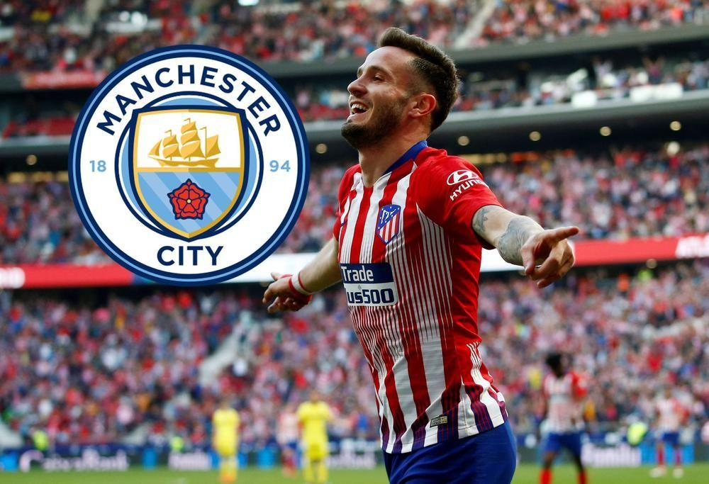 Saul Atletico Madrid Manchester City