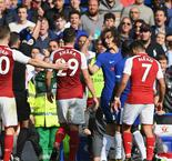 Chelsea 0 Arsenal 0: David Luiz sent off as champions are held