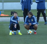 Quiet day for Messi ahead of international return