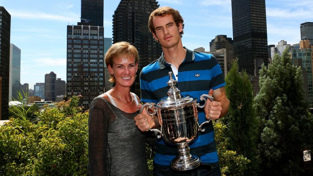 Judy and Andy Murray - cropped